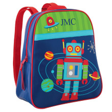 Copy of Monogrammed Kids Backpacks GoGo Robot- Kids Bags