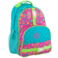 Kids School Bags Over Style Elementary Size Paisley