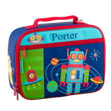 Monogrammed Lunch Boxes in Robot