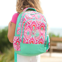 Kids Backpack- Kids Personalized -Monogrammed Kids Backpack -Beachy Print