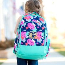 Kids Backpack- Kids Personalized -Monogrammed Kids Backpack -Amelia Print