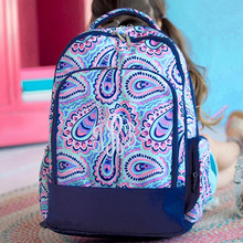 Kids Backpack- Kids Personalized -Monogrammed Kids Backpack -Sophie Print