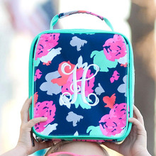 Kids Lunch Box- Kids Personalized Lunch Box -Monogrammed  Girls Lunch Box-AmeliaPrint