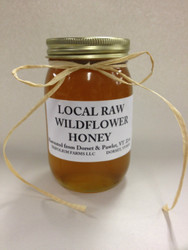 Vermont Local Raw Wildflower Honey