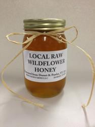 Vermont Local Raw Wildflower Honey