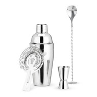 Stainless Steel Barware Set
