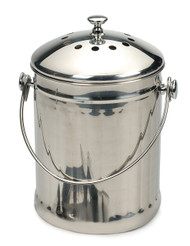 Compost Bin - Stainless Steel