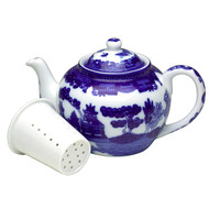 Blue Willow Teapot | 3 Cup with Infuser