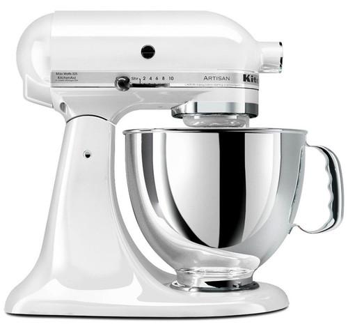 KitchenAid Artisan Series 5-Qurat Tilt-Head Stand Mixer | White
