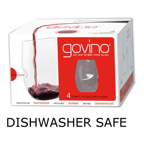 Govino Plastic 16 oz Wine Glass | 4 pack