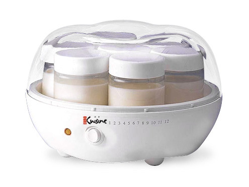 Euro cuisine automatic yogurt maker vermont kitchen supply for Automatic yogurt maker by euro cuisine