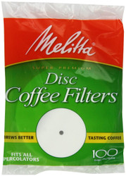 Melitta Disc Coffee Filters