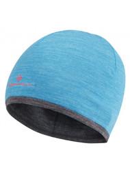 Ronhill Hill Merino Hat ( one Size ) DeepCyan/GreyMarl