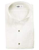 Ivory Wing Collar (Dante) Tuxedo Shirt by Cardi