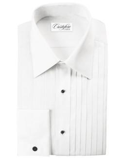 Milan Laydown Tuxedo Shirt by Cristoforo Cardi - 17 1/2 Neck