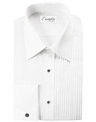"Angelo Laydown Tuxedo Shirt by Cristoforo Cardi - 19"" Neck"