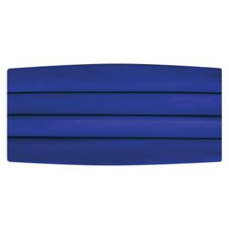 Satin Royal Blue Cummerbund