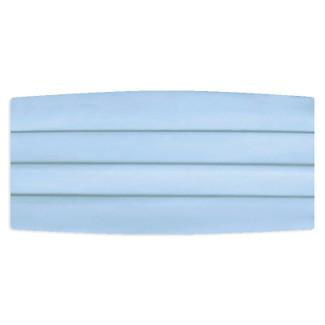 Satin Light Blue Cummerbund