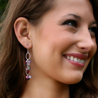 Cupid Cluster Earrings