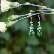 Meadow Earrings in Sterling Silver