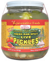 Organic Spicy Live Pickles