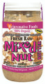 Fresh Raw Organic Mixed Nut Butter Pure Rejuvenative Foods Low-Temp-Ground Almond-Cashew-Brazil-Pistachio-Pecan-Hazelnut Vegan Treegan In-Glass Vitamin-Protein-Antioxidant USDA-Certified-Organic