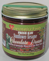 Raw Xylitol Organic Chocolate-Sesame-Sunflower-Dream Rejuvenative Foods Fresh-Pure 9 oz Dairy-Free StoneGround Xylitol-Sweet white-sugar-free fudge Candy-In-Glass-Jar Antioxidants-Minerals