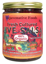Raw Organic Red Salsa