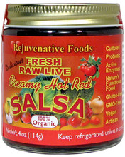Creamy Hot Red Salsa