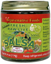 Creamy Hot Green Salsa