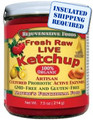Fresh Organic Pure Probiotic Cultured  Enzyme Raw Live Ketchup With Honey Tomatoes In-Glass