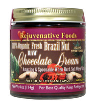 Raw Brazil Nut Chocolate Dream With Agave