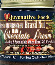 Raw Bittersweet Brazil Nut Chocolate Dream with Xylitol