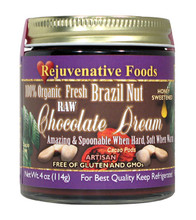 Raw Brazil Nut Chocolate Dream With Honey