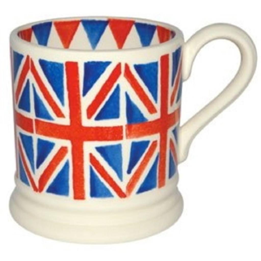 Union Jack 1/2 Pint Mug Boxed
