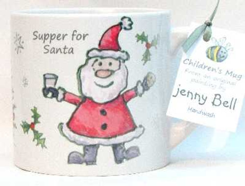 Supper for Santa Child's Mug