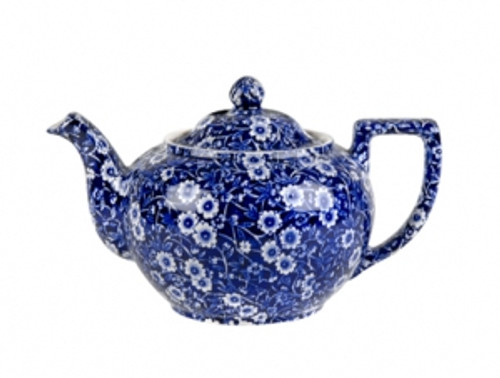 Blue Calico Teapot  Small
