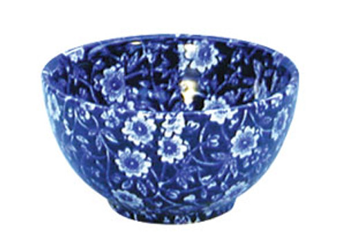 Blue Calico Sugar Bowl Small