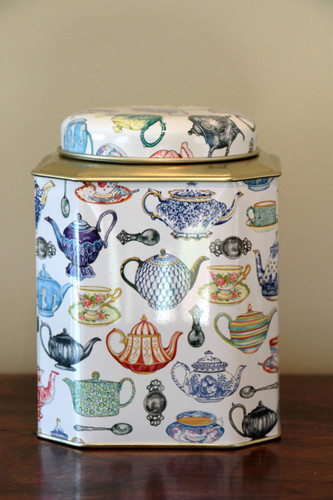 Teapot Tea Caddy