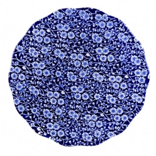 Blue Calico Cake Plate