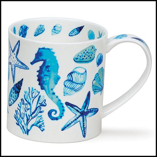 Fine bone china Dunoon Orkney Rockpool mug.