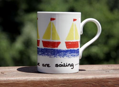 Sailing Boats Mug