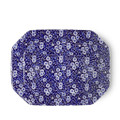 Burleigh Blue Calico Rectangular Dish