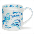 Fine bone china Dunoon Orkney Nippers mug.