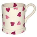 Pink Hearts 1/2 Pint Mug