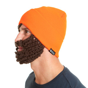 The Original Beard Beanie™ Hunter Orange
