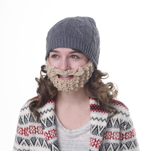 Ladies Beard Beanie