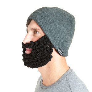 The Original Beard Beanie™ Lumberjack Charcoal