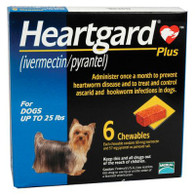 Heartgard Plus Chewables Blue - 6 Pack
