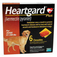 Heartgard Plus Chewables Brown - 6 Pack